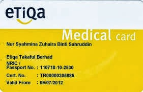 medical card etiqa